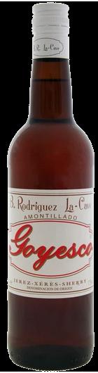 Amontillado Goyesco B. Rodríguez La-Cave