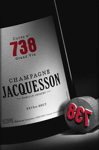 Champagne Jacquesson Cuvee 738 D.T. Extra Brut