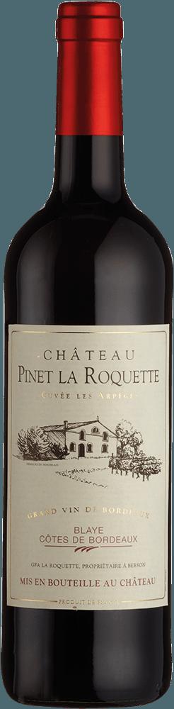 Chateau Pinet la Roquette Cuvee les Arpeges Blaye Cotes de Bordeaux