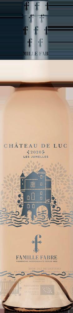 Chateau de Luc Corbieres Rose Les Jumelles