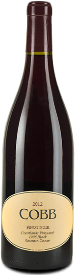 Cobb Coastlands 1906 Block Pinot Noir Sonoma Coast