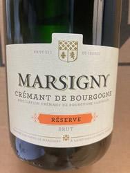 Cremant de Bourgogne Brut Reserve Marsigny NV