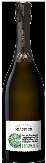 Champagne Drappier Clarevallis Organic NV