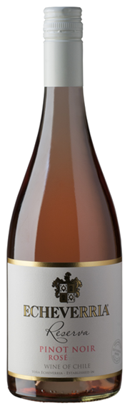 Echeverria Pinot Noir Rose Curico Valley