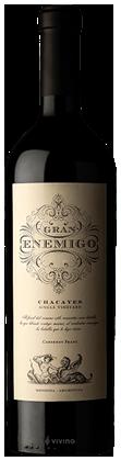 El Gran Enemigo Single Vineyard Chacayes