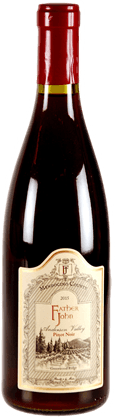 Father John Winery Comptche Pinot Noir Mendocino
