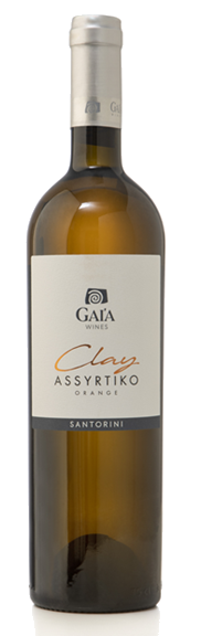 Gaia Wines Clay Orange Wine Santorini Assyrtiko