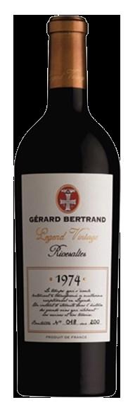 Gerard Bertrand Legend Vintage Rivesaltes 1974