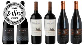 International Wine Challenge 2020 Medal Winning Reds Mixed Case
