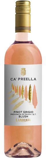 Lamberti Ca'Preella Pinot Grigio Blush