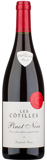 Les Cotilles Pinot Noir Vin de France Roux