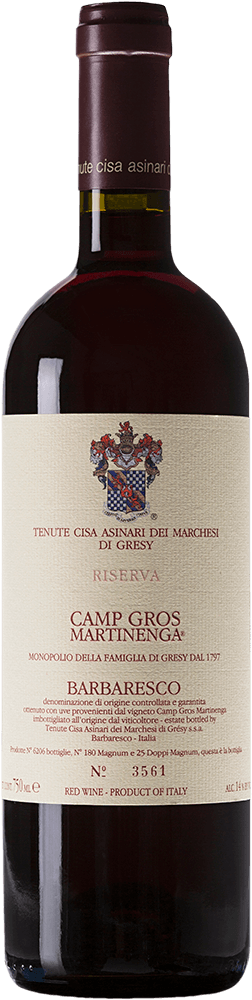 Marchesi di Gresy Barbaresco Riserva Camp Gros