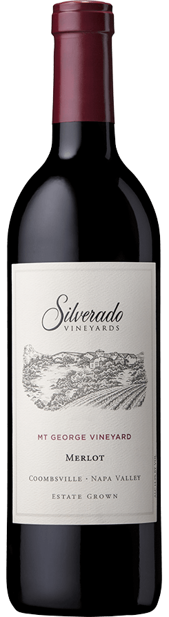 Silverado Vineyards Mt George Vineyard Merlot