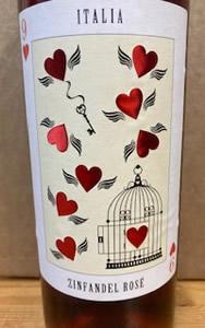 Nine of Hearts Zinfandel Rose Puglia