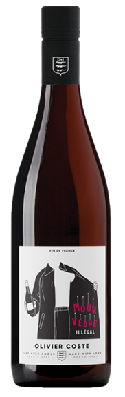 Olivier Coste Mourvedre Illegal Vin de France