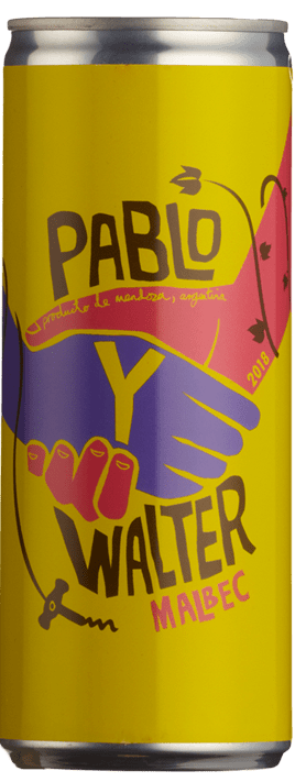 Pablo Y Walter Malbec 25cl Can