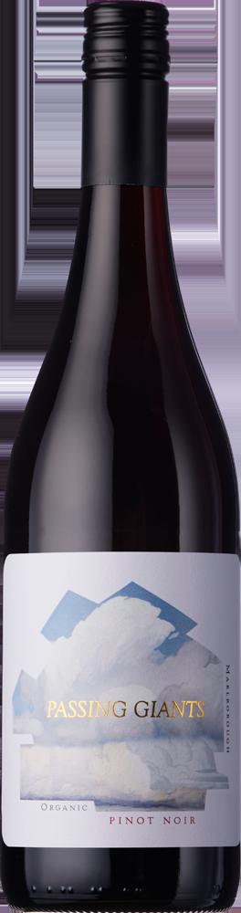 Passing Giants Pinot Noir Marlborough Organic