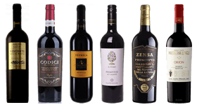 The Italian Primitivo Mixed Case