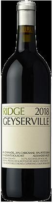 Ridge Vineyards Geyserville