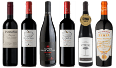 The Sicilian Experience Reds Mixed Case