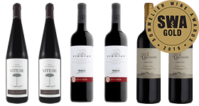 Sommelier Wine Awards 2019 Gold Medal Winners Reds Mixed Case