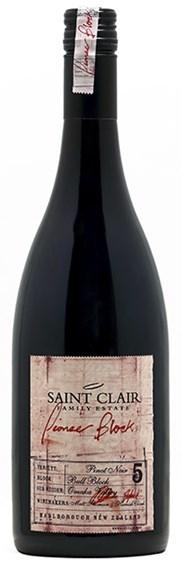 Saint Clair Pioneer Block 5 Bull Block Marlborough Pinot Noir