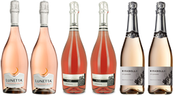Sparkling Rose Wines Mixed Case