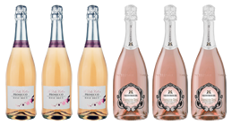 The All New Prosecco Rose Mixed case - Pink Prosecco is finally here!