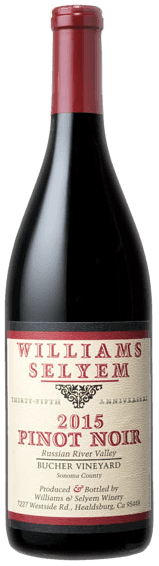 Williams Selyem Bucher Vineyard Pinot Noir 2015