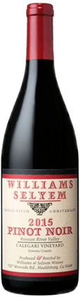 Williams Selyem Calegari Vineyard Pinot Noir 2015