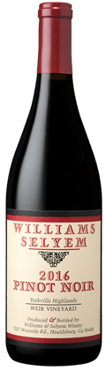 Williams Selyem Weir Vineyard Pinot Noir 2016