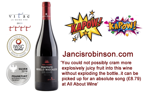 JANCIS ROBINSON WINE OF THE WEEK