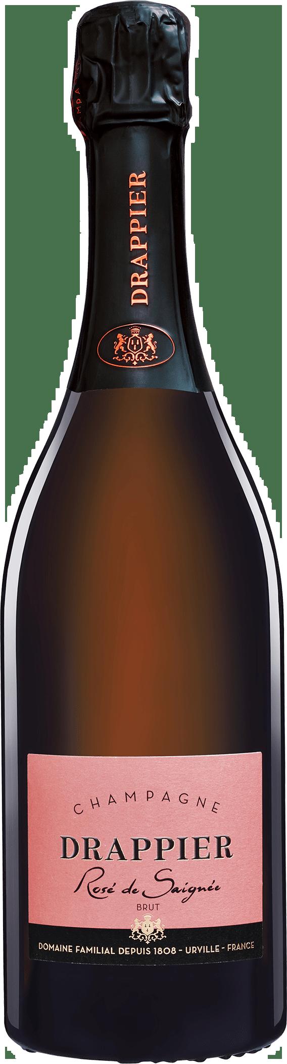 Champagne Drappier Rose de Saignee Brut