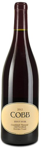 Cobb Coastlands Old Firs Block Pinot Noir Sonoma Coast 2012