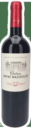 Chateau Mayne Mazerolles Blaye Cotes de Bordeaux
