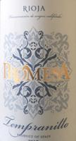 Promesa Rioja Tempranillo