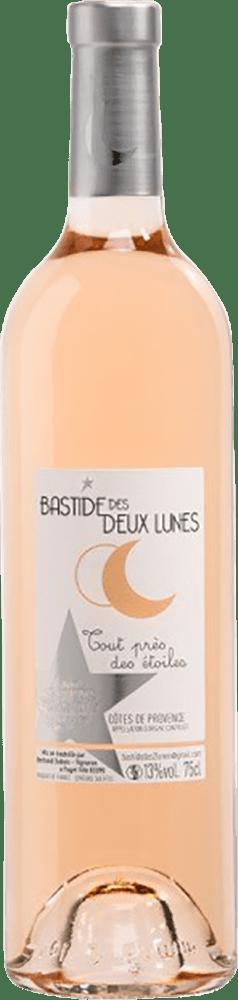 La Bastide des Deux Lunes Rose Côtes de Provence Tout pres des Etoiles