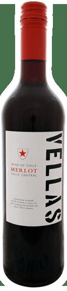 Vellas Merlot Central Valley Chile