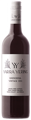Yarra Yering Underhill Shiraz Yarra Valley Victoria