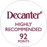 decanter 92 points