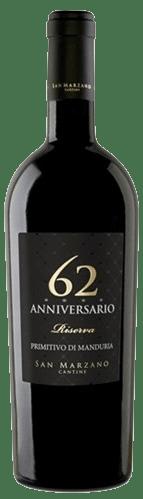 62 Anniversario Riserva Primitivo di Manduria San Marzano