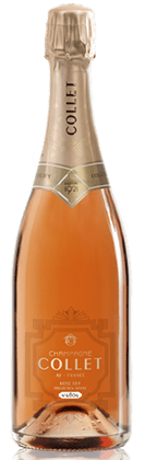 Champagne Collet Collection Privee Rose Dry NV