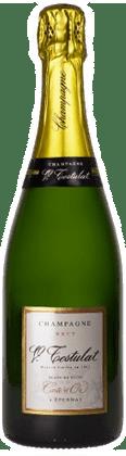 Champagne Testulat Carte d'Or Brut Blanc de Noirs