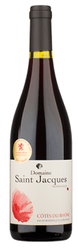 Domaine Saint Jacques Organic Cotes du Rhone Rouge