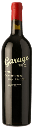 Garage Wine Co Lot 82 Cabernet Franc