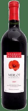 Merlot Vin de Pays d'Oc Georges Duboeuf