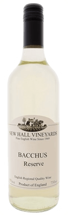 New Hall Vineyards Bacchus Reserve