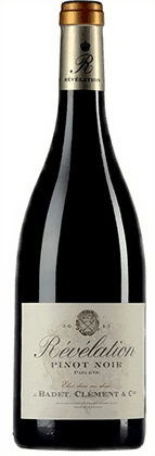 Revelation Pinot Noir Badet Clement